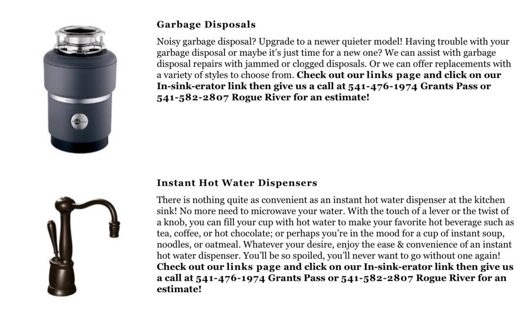 garbage-disposal-repair-replacement-grants-pass
